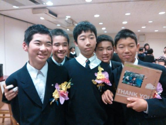 2014.11.22 卒団式